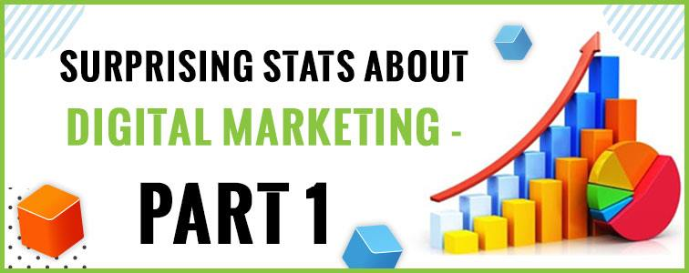 Surprising Stats About Digital Marketing - Part 1
